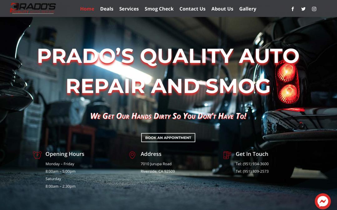 Prado's Quality Auto Repair and Smog