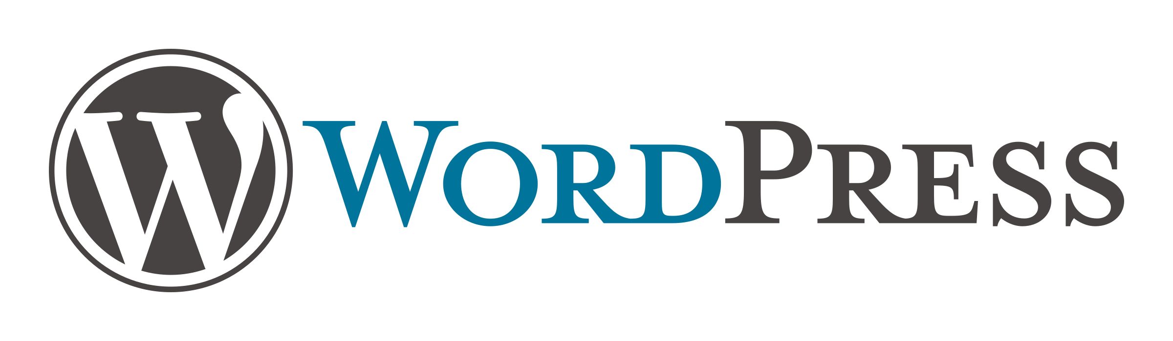 WordPress-color-logo-with-text-standard-transparent