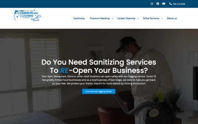 Commercial Cleaning of San Diego